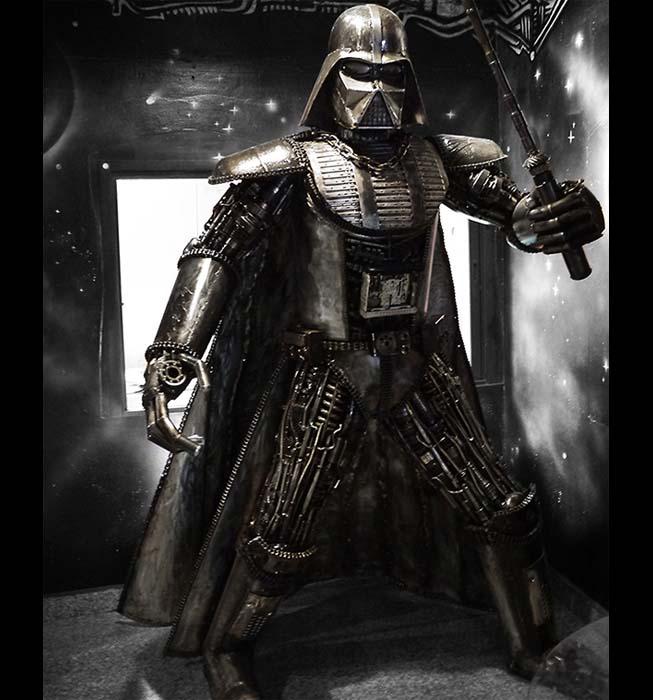 Stahlskulpturen - Lord Vader - Maßstab 1: 1 - Star Wars - Katalognummer Z34