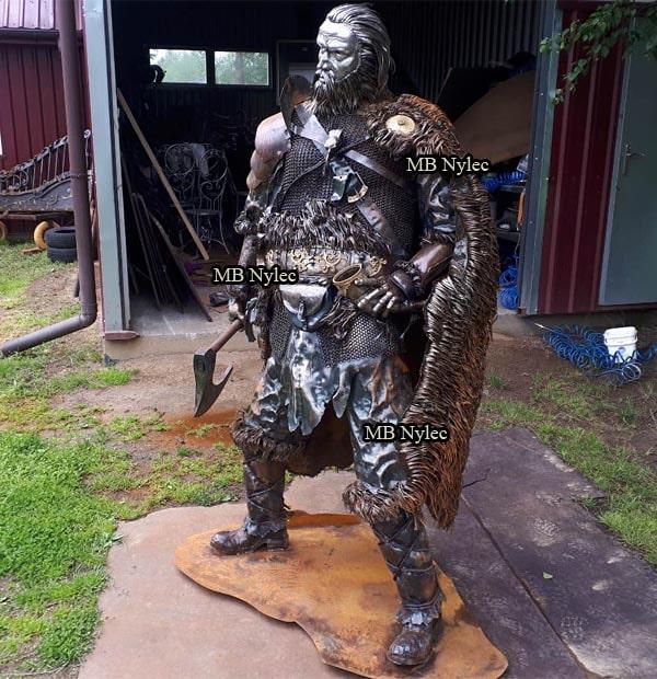 Wikinger - Krieger aus Stahl - Maßstab 1: 1